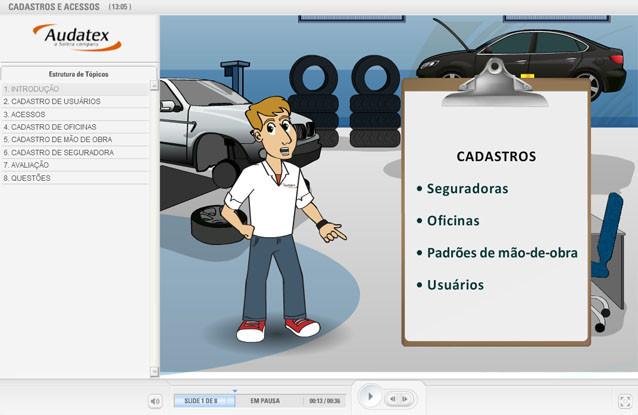 AUDATEX – EAD de simulação para educação corporativa