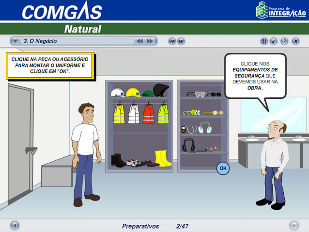 COMGÁS - EAD de e-learning para educação corporativa